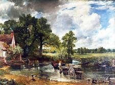 JOHN CONSTABLE THE HAY WAIN OLD MASTER PAINTING PICTURE REPRO POSTER 1626OMLV