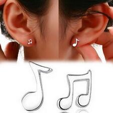 Unique Women 925 Sterling Silver Rhinestone Ear Stud Earrings Fashion Jewelry U