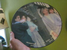 "the CURE PICTURE DISC 12"" INTERVIEW ROBERT SMITH 80S W LOL TOLHURST VINYL RECORD"