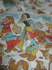 Vintage Disney Snow White & The 7 Dwarfs Single Duvet Cover.