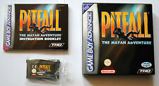 Jeu PITFALL THE MAYAN ADVENTURE Complet sur Nintendo Game Boy Advance GBA TBE FR