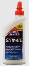 New Elmers Glue All 8 oz. Nonflammable Dries Clear High Strength Adhesive E3820