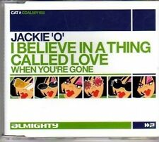 (AM576)Jackie'O,I Believe In A Thing Called Love- DJ CD