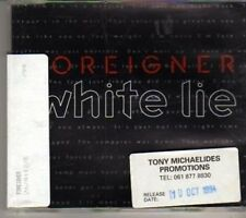 (BX233) Foreigner, White Lie - 1994 DJ CD
