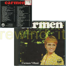 "CARMEN VILLANI ""CARMEN"" RARO DOPPIO CD 1997 ON SALE MUSIC"