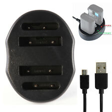 USB Dual Battery Charger For MH-61 EN-EL5 Nikon Coolpix P500 P510 P6000 P520 P90