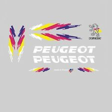 Peugeot Bicycle Frame Stickers - Decals - Transfers - n.12