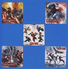 10 Captain America Civil War - Large Stickers - Iron Man, Avengers