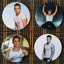Matt Bomer 4 x Coaster Set NEW Magic Mike XXL American Horror Story White Collar