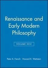 Renaissance and Early Modern Philosophy, Volume XXVI