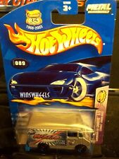 HOT WHEELS 2003 #89 -3 COMBAT AMBULANCE SLVR 5SP RED-SLVR-BLU TAMP 03 CA