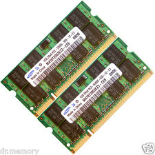 2GB 2x1GB DDR2 667 MHz PC2-5300 5300S Laptop SODIMM Memory RAM 200 Pin CL5