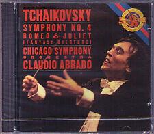 Claudio ABBADO: TCHAIKOVSKY Symphony No.4 Romeo and Juliet CBS CD 1989 Chicago