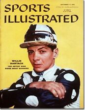 September 17, 1956 Willie Hartack, Horses and Horse Racing Sports Illustrated 1