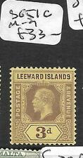 LEEWARDS ISLANDS (P2511B) KGV 2 1/2D  SG 67  MOG