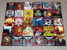 ALLE 58 CD's • METAL HAMMER • MAXIMUM METAL 101 - 180 • KOMPLETT-SAMMLUNG WACKEN