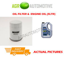 PETROL OIL FILTER + C1 5W30 ENGINE OIL FOR MAZDA 6 2.0 147 BHP 2005-07