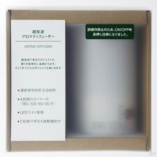 MUJI Aroma Diffuser ultrasonic waves with LED light 11SS Japan