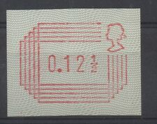 1984 Frama Label. 12 1/2p trial on white paper with unshaded head. Fine MNH.