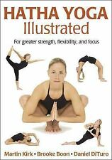 Hatha Yoga Illustrated by Martin Kirk Paperback Book (English)