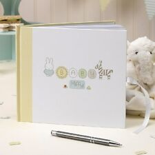 Baby Miffy - Guest Book - 1st Birthday Christening Baby Shower
