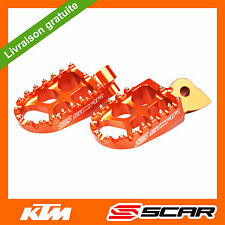 REPOSE CALE PIED EVO KTM 85SX 85 SX 1998-2017 ORANGE SCAR