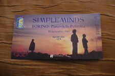 TICKET SIMPLE MINDS 1989  ITALY