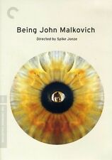 Being John Malkovich [Criterion Collection] [2 Discs] (2012, DVD NEUF)2 DISC SET