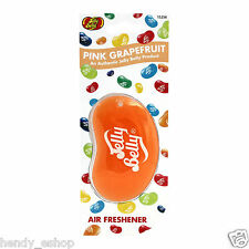 Jelly Belly 3d Bean dulces aroma ambientador Freshner-Pomelo rosa