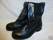 G.I. Ripple Sole Combat Boot Leather Boots Vietnam Era 13.5 XW NEW Old Stock