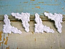 SHABBY N CHIC CORNERS (4) * FURNITURE APPLIQUES / ONLAYS @ FREE SHIPPING