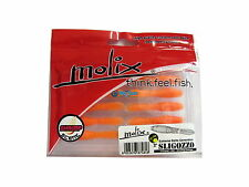 "NEW MOLIX SLIGOZZO 2""  Black Bass / Rock Fishing - COLOR: #84 GLOWING ORANGE"