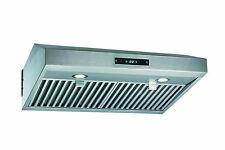 "Stainless Steel 30"" Range Hood Under Cabinet Kitchen Dual Motor Kitchen Fan"