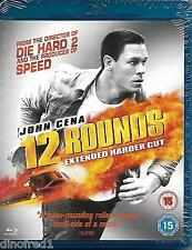 12 Rounds Extended Harder Cut (Blu-ray, 2009) NEW SEALED