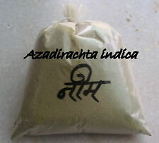 Organic Neem leaf powder - Azadirachta  - Neem powder for hair and skin care