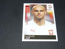 N°236 MARIUSZ JOP POLOGNE POLSKA PANINI FOOTBALL UEFA EURO 2008
