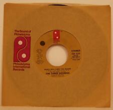 The Three Degrees When Will I See You Again / Year of Decision 45 NM Soul PIR