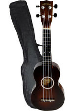 "21"" Basswood Soprano Ukulele Hawaiian Instrument Polishing finished w/Carry Bag"