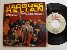 """JACQUES HELIAN : Etoile des neiges - DEDICACE - 7"""" EP 1961 FESTIVAL FY 2258"""
