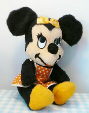 Vintage oud old Disney Minnie Mouse knuffel California pluche figure Figuur