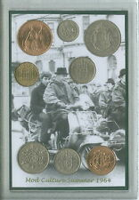 We Are The Mods Vintage Mod Vespa Quadrophenia Retro Coin Display Gift Set 1964