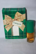 "VINTAGE EMERAUDE COLOGNE SPRAY IN ORIGINAL GIFT PACKAGING 5"" X 3 1/2"" X 1"""