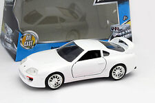 Brian's Toyota Supra Fast and Furious blanco 1:32 jada Toys