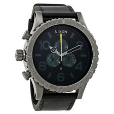 Nixon 51-30 Chronograph Gunmetal Mens Watch A124680