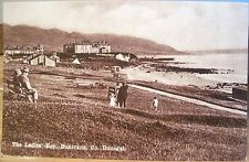 Irish Postcard THE LADIES' BAY Buncrana County DONEGAL Ireland CTC Ltd. Series B