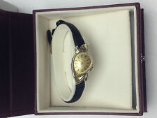 GENUINE 14K GOLD VINTAGE LONGINES 17 JEWELS MANUAL WIND WOMEN'S WATCH FANCY LUGS