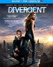 Divergent [Blu-ray + DVD + Digital HD] Color, Subtitled, Widescreen, Di