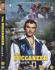 The Buccaneer (1958, Anthony Quinn, Yul Brynner) DVD NEW