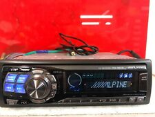 Alpine Cda-9831r Top Spec Car Radio Stereo Cd Mp3 Player Rear Aux Motorised Face