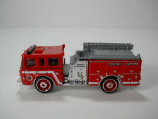 Matchbox Aurora Pierce Dash Fire Engine # 1 Fire Truck 1/64 Scale JC45